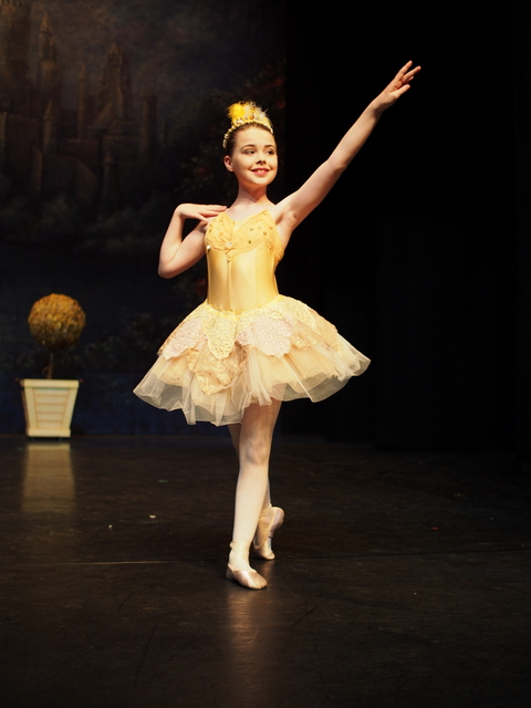 Mabel Hill in EYB Sleeping Beauty