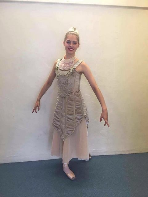 Amy Canning as the Countess in EYB's Sleeping Beauty