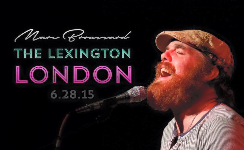 Marc Broussard Live in London Poster