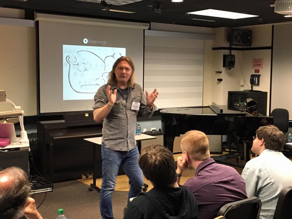 Presenting Songschemes at APME 2016 at Berklee College of Music in Boston, USA.