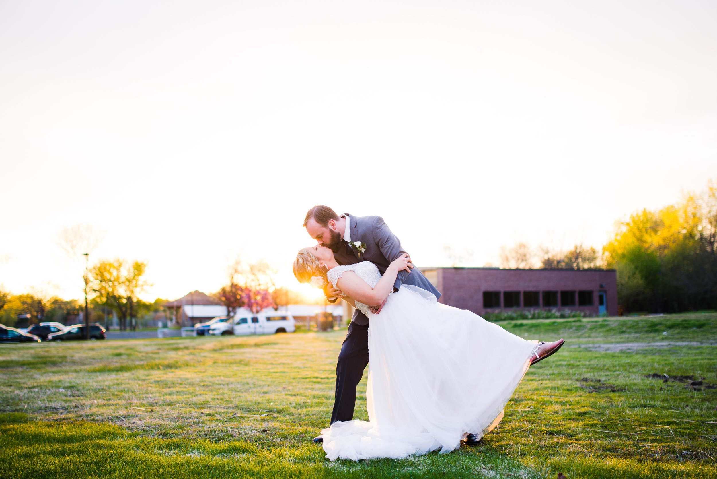Vadnais Heights Commons Wedding Photography Michelle Jason