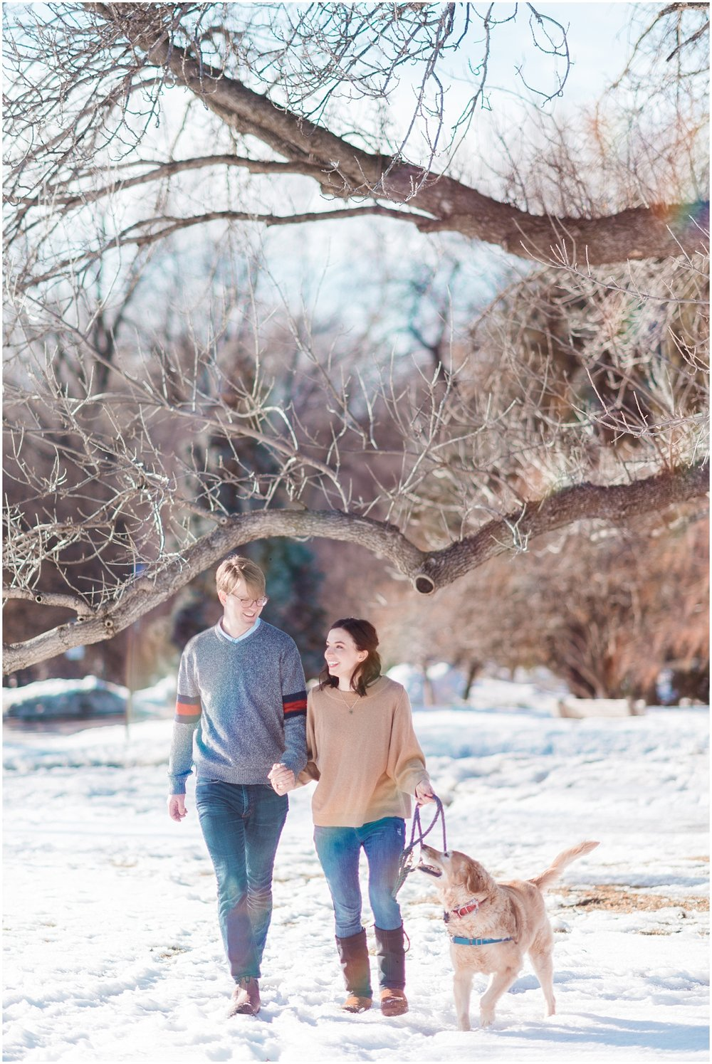 Lake Harriet Engagement Photography