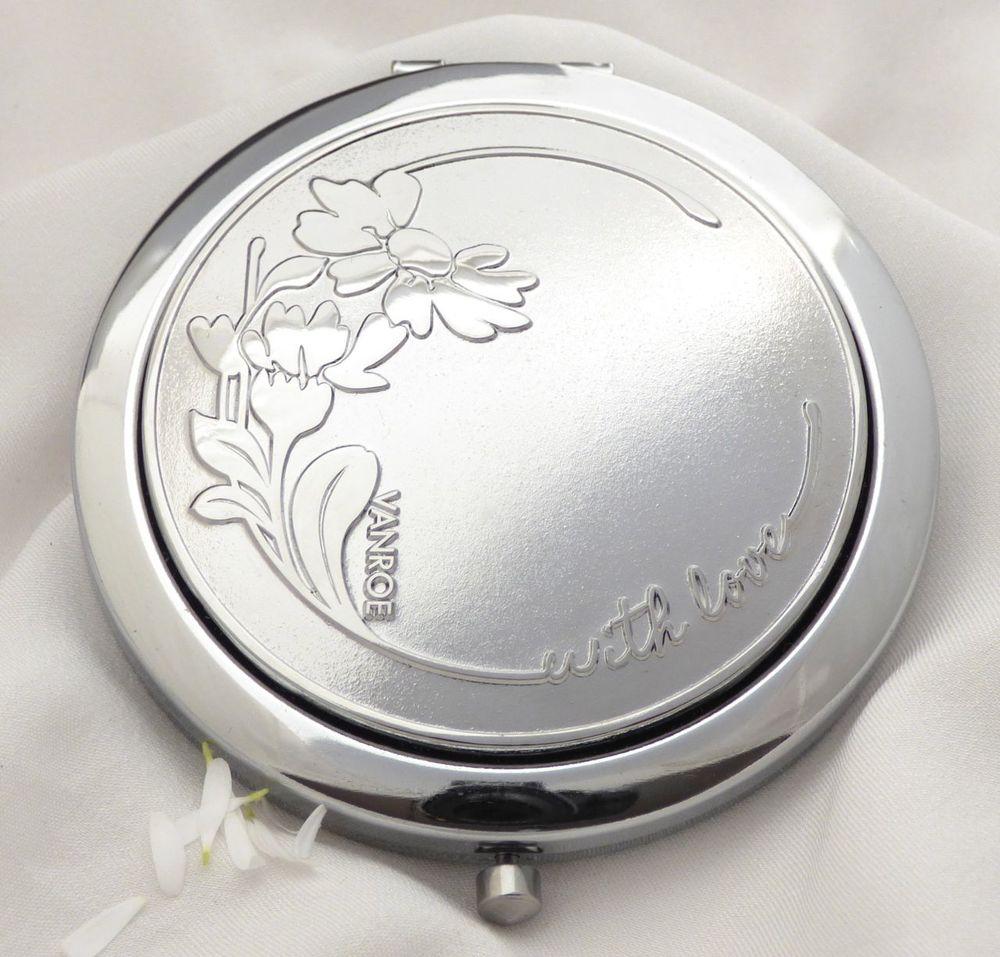 daisy flower compact mirror uk vanroe