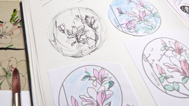 sketches compact mirror uk designer