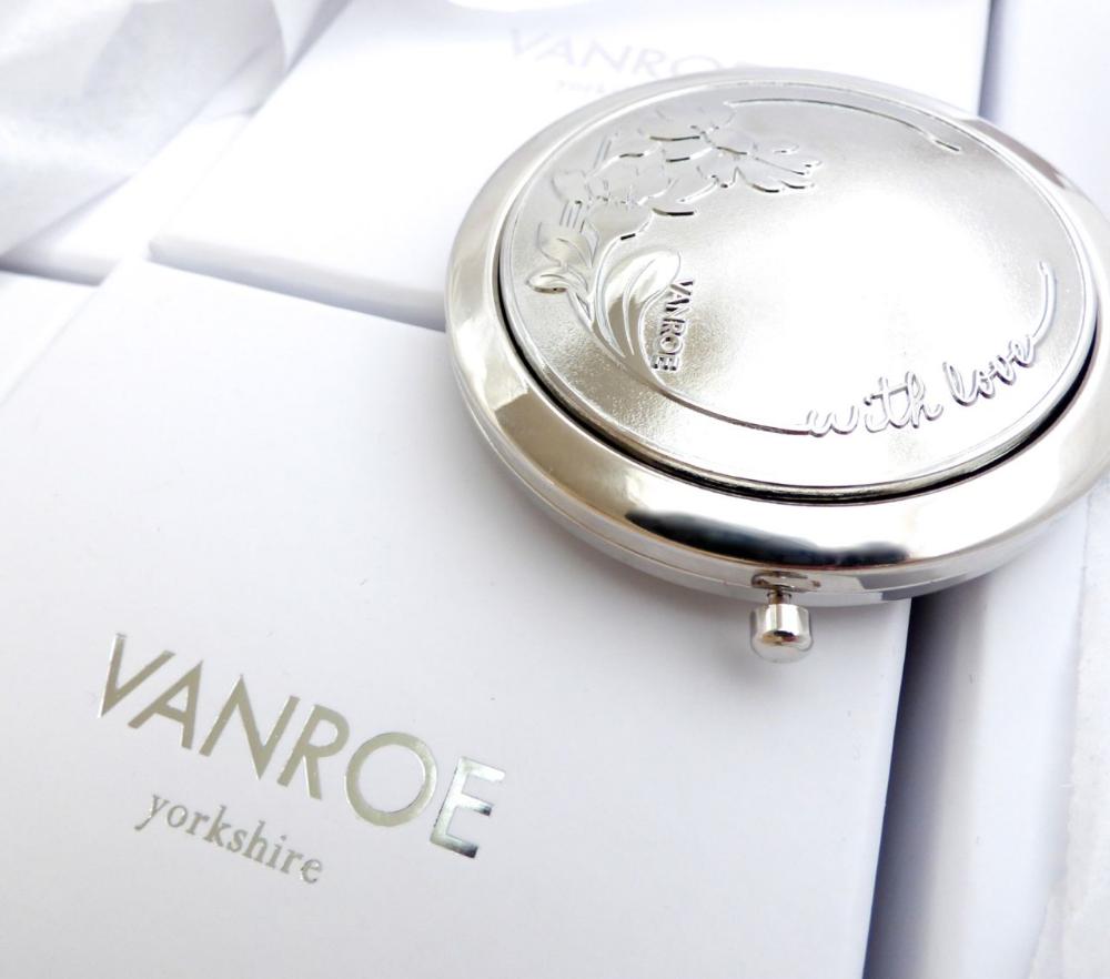 compact mirror gift box Vanroe uk