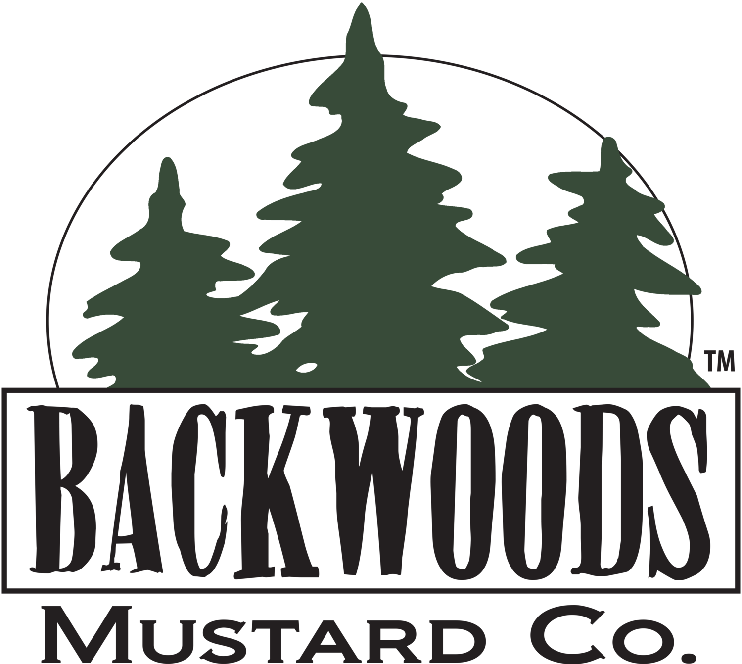 Backwoods Mustard Company - Craft Mustard Made In Michigan