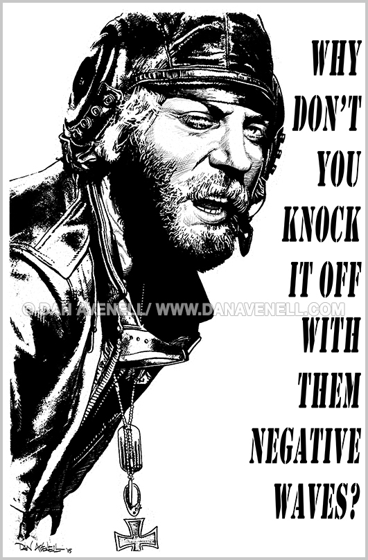 Kelly's Heroes - Oddball Says (bw)