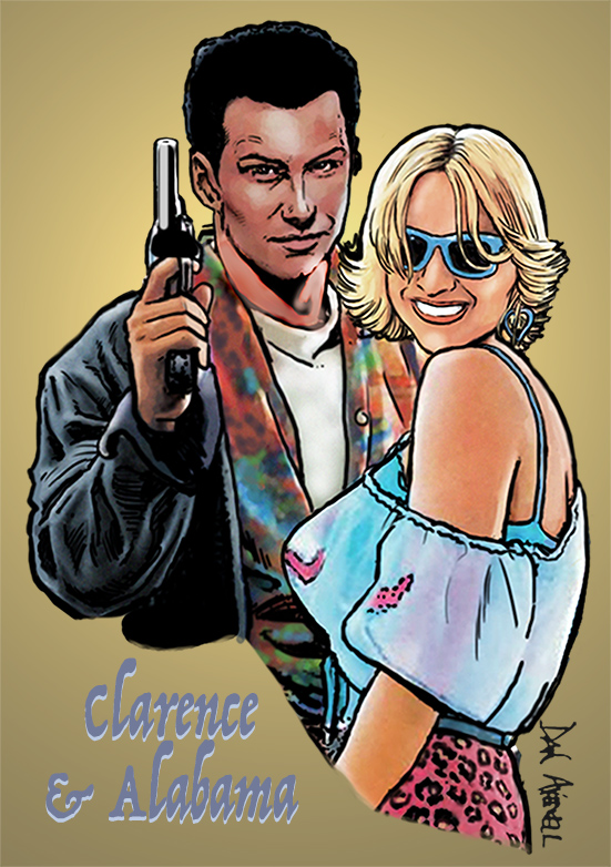 True Romance - Clarence & Alabama