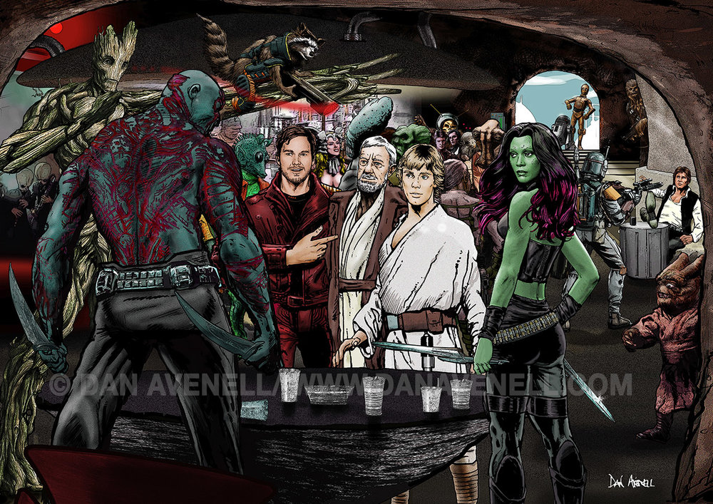 Guardians In A Galaxy Far Far Away...