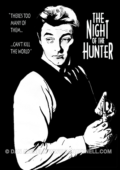Mitchum - The Night Of The Hunter.