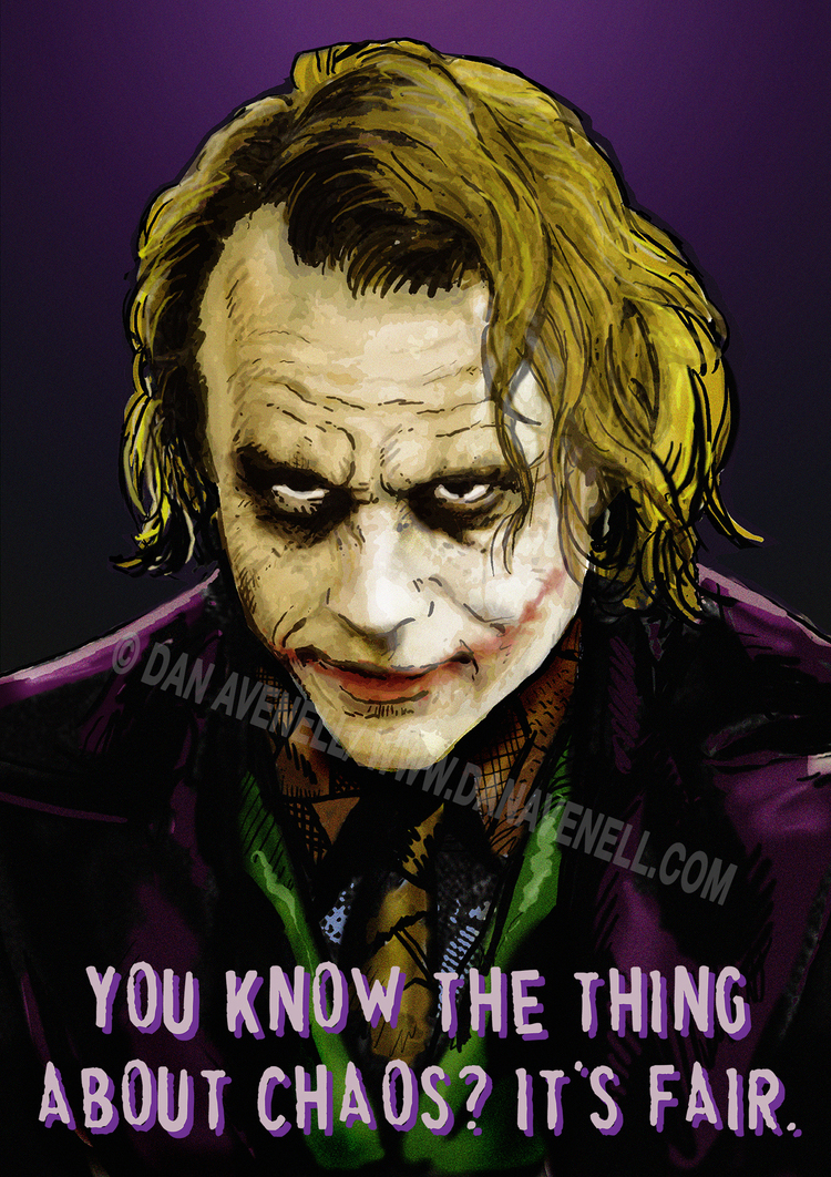 The Joker Says