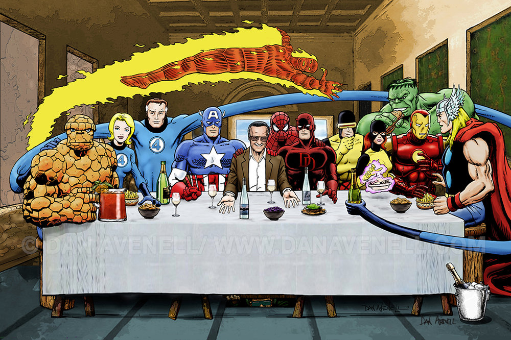 Stan Lee's Super Supper|