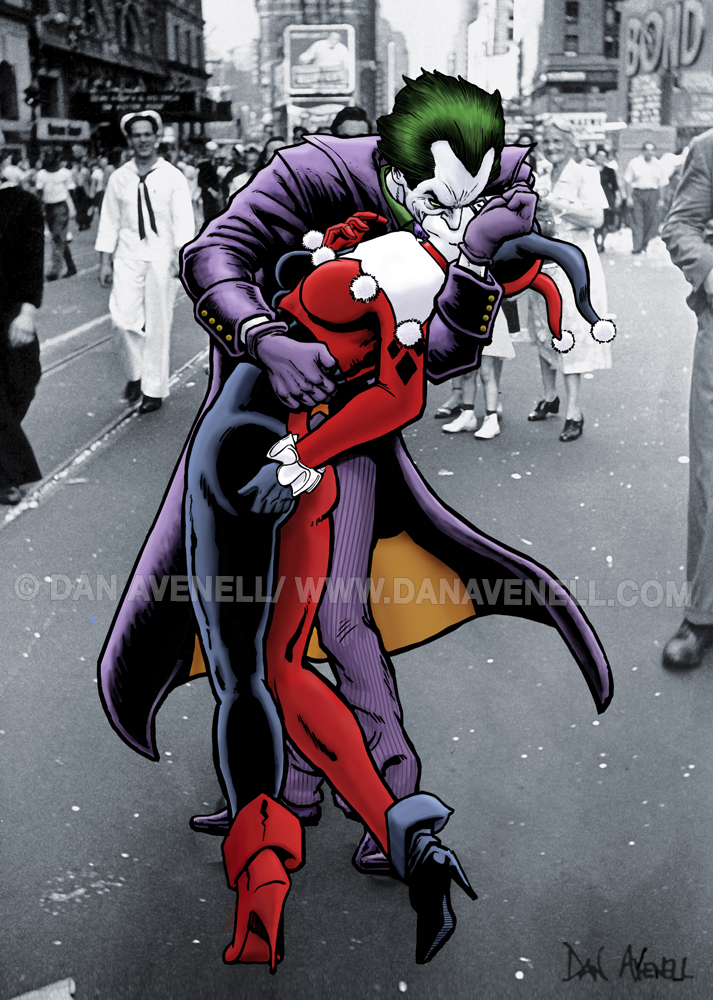 The Joker and Harley Quinn: The Kissing Joke