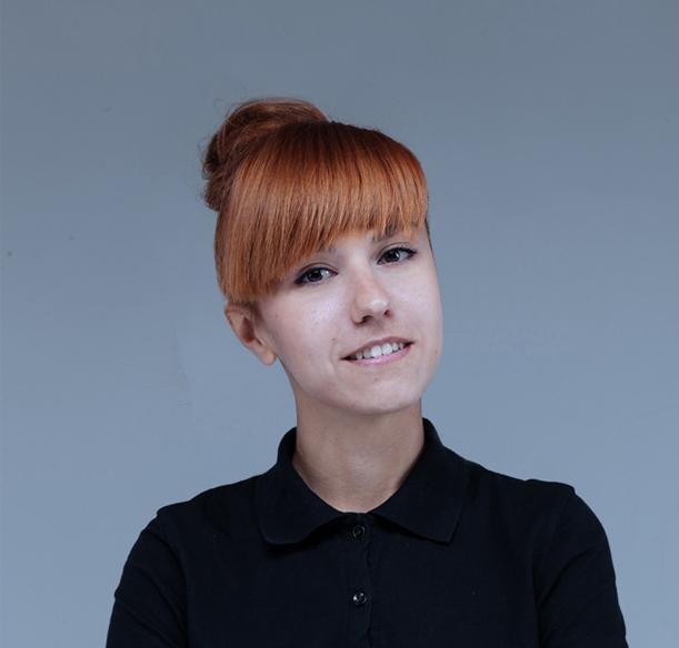 Designer herself Anastasia Komarova