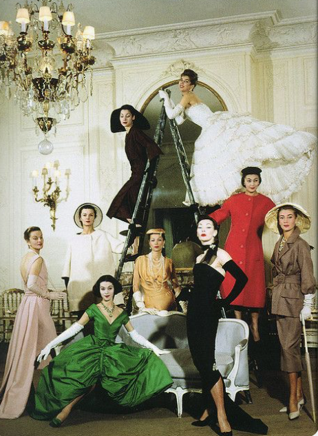 Dior Magic 1957 - Photography by the Cecil Beaton