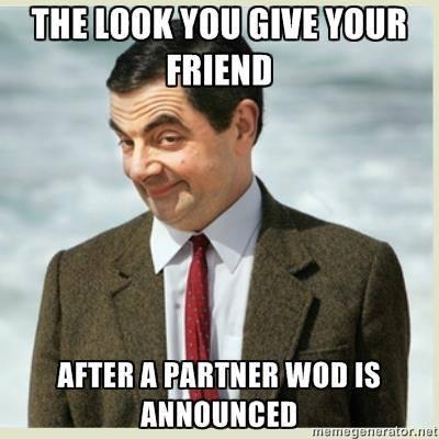 Speaking of Partner WODs....
