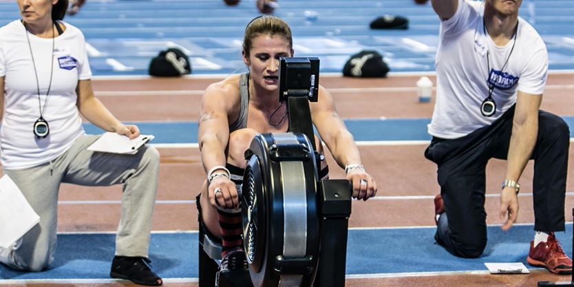This is the face Coach Maria makes when she's dying on the rower... Look out for this same expression tomorrow!