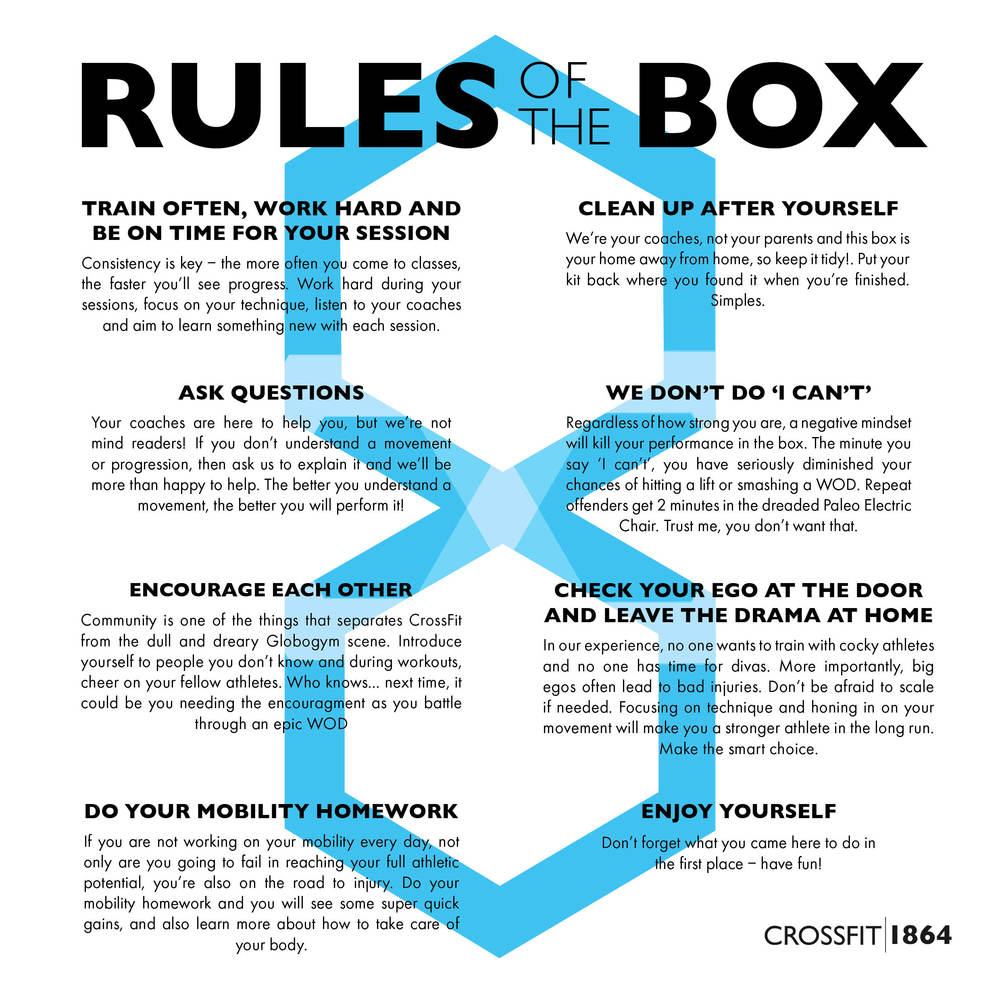 Do you know the Rules of the Box?
