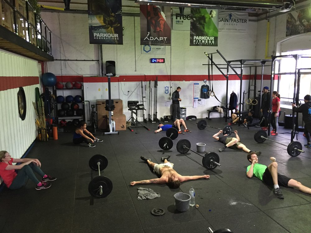 Finally solving the age-old debate... what's worse, thrusters or burpees?