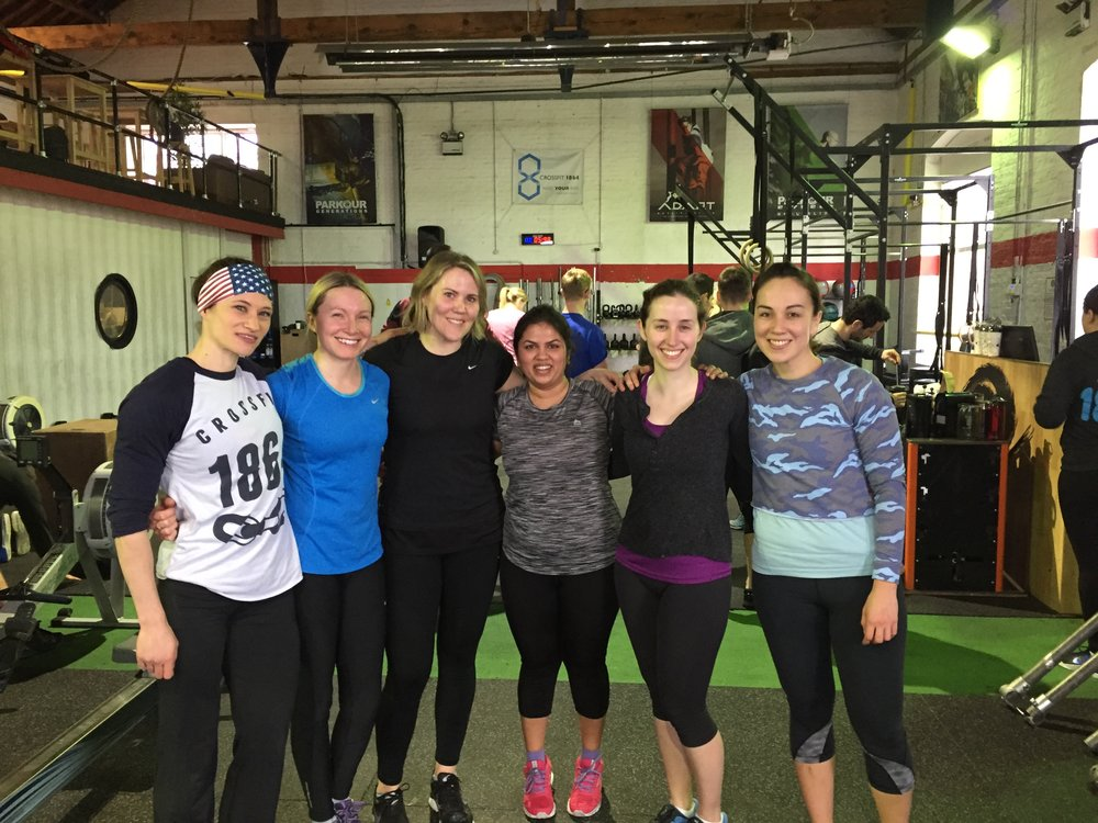 Congrats to the ladies of FIT in SIX on completing their 6 week challenge! They all hit massive PBs on their Baseline workout as well!