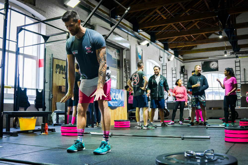 """Luke masters the """"Invisible Bar Halting Clean Deadlift"""""""