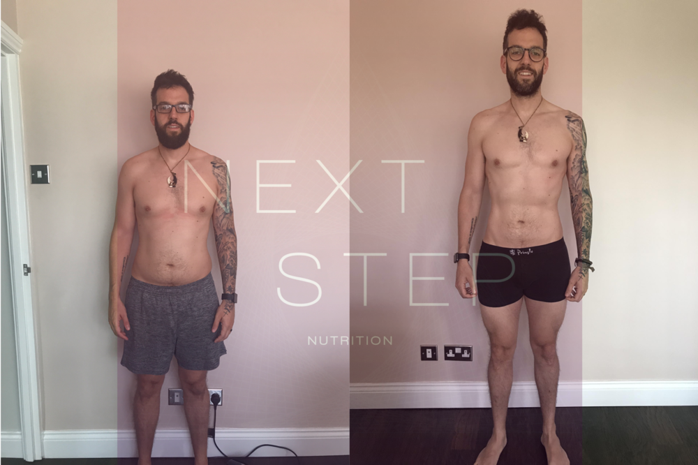 Shaun has lost over 7 kg while working with Jonny and is continuing to lean up while focusing on his CrossFit performance. As a gym owner, new dad, and singer on weekends, Shaun always struggled with balancing his nutrition with his other priorities. Working with Jonny changed his mindset around 'good' and 'bad' food and allowed him to focus on what really matters while still enjoying meals out, alcohol, and all the good stuff life brings us.*