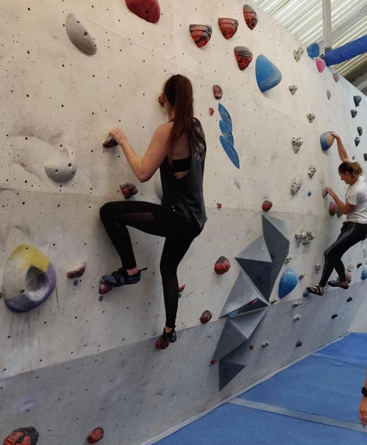 Thanks to everyone who joined us for our afternoon of rock climbing!