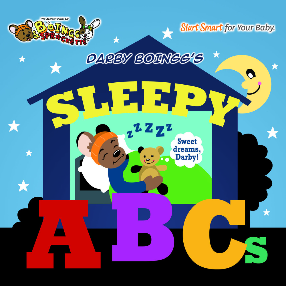 The Adventures of BoIngg & Sprockette: DARBY BOINGG'S SLEEPY ABCs