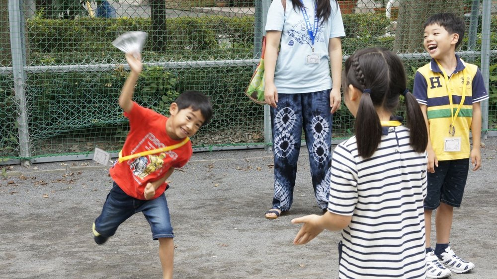 Summer English Camp Games
