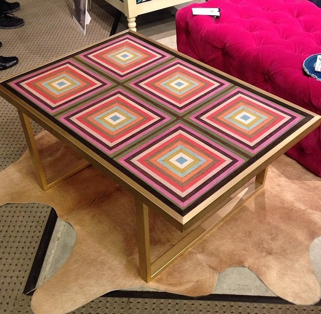 Harmony Petite Kelly Coffee Table collaboration with Taylor Burke Home