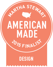 Mirth Studio featured as a Martha Stewart American made finalist
