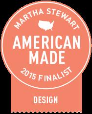 Mirth Studio featured as a Martha Stewart American made finalist