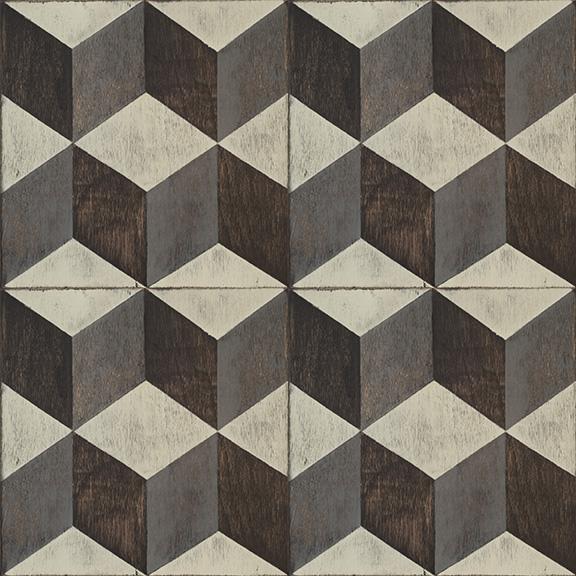 Floor design texture Mosaic Tumbling Blocks Click To Order Mirth Studio Peel And Stick Decorative Floor Decals Mirth Studio