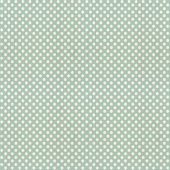 Sea Foam Mint Polka Dot -  Click to Order