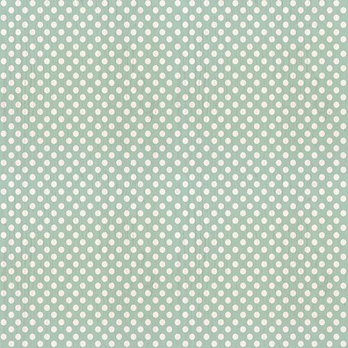 Sea Foam Mint Polka Dot