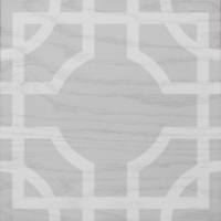Elegant Grey and White Hardwood floor tile in Macau Pattern from Timeless Graphics Collection #MirthStudio #WoodTile