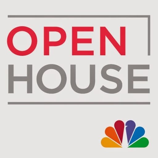 "Creator of Mirth Studio featured on the NBC show ""Open House"" to showcase our colorful, patterned wood floor tiles that have the look of hand painted floors"