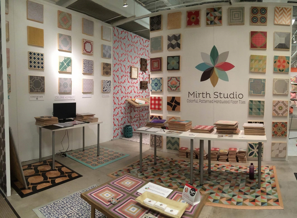 Mirth Studio's Featured Booth at High Point Furniture Market