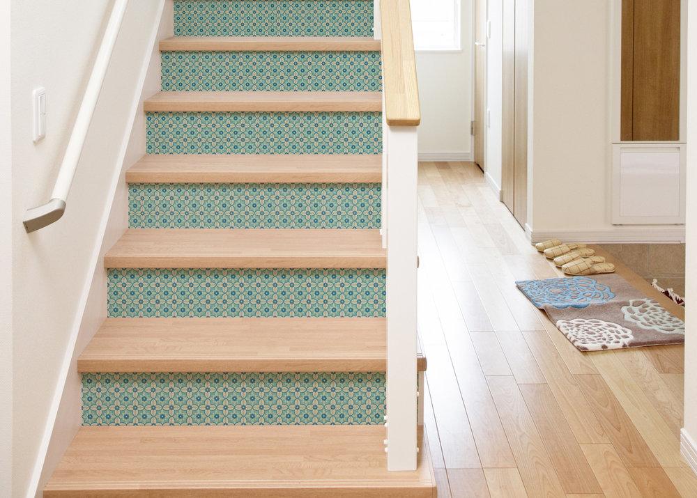 Exceptionnel Antebellum Stair Riser Decal