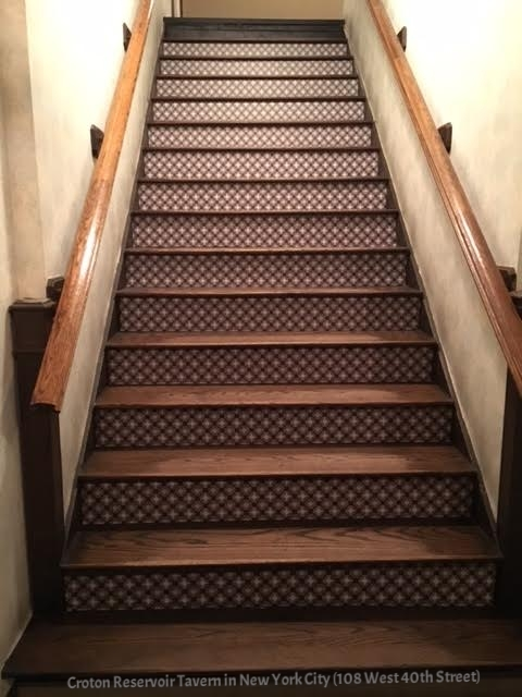 Charmant Cafe Stair Riser Decal