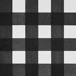 Black and White gingham wood tile #Mirthstudio