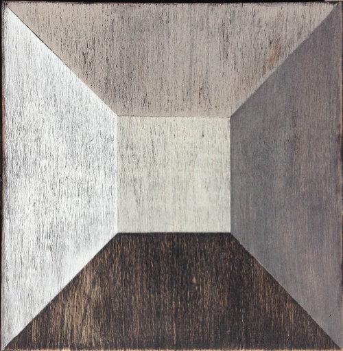 Illusion wood tile #mirthstudio