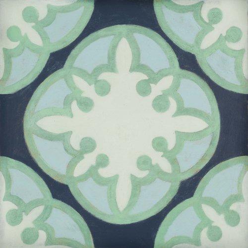Blue Cafe Wood Tile #Mirthstudio