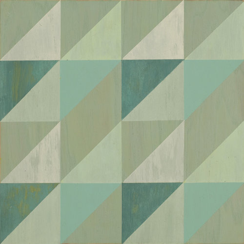 Lively Mint wood tile #Mirthstudio