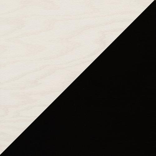 Black and White Diagonal wood tile #Mirthstudio