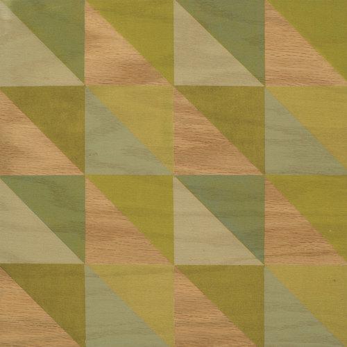Lively Celery wood tile #Mirthstudio