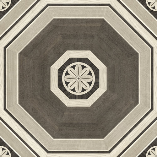 Stately Octagon Gray