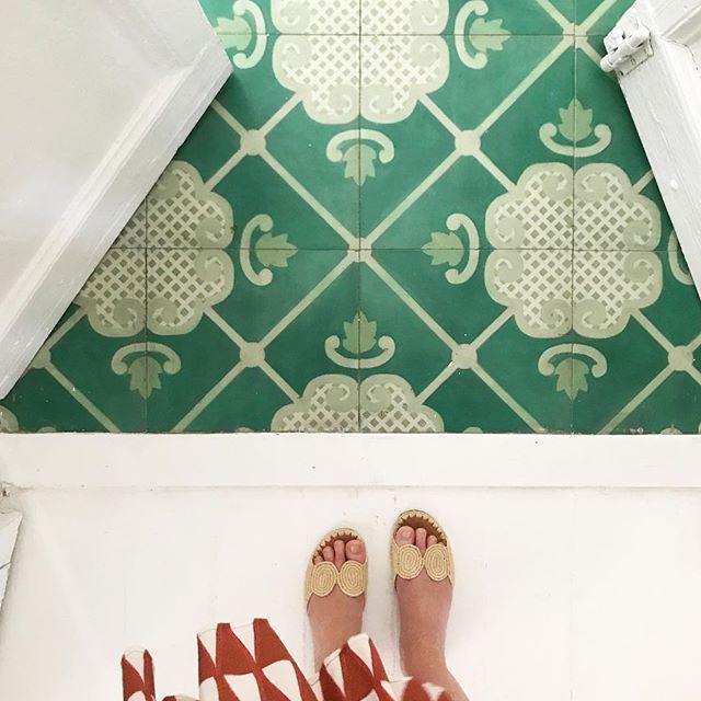 Celerie Kemble's Folly Hardwood tile