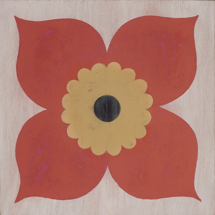 Poppy Coral Hardwood Tile