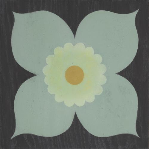 Poppy Mint Hardwood Tile
